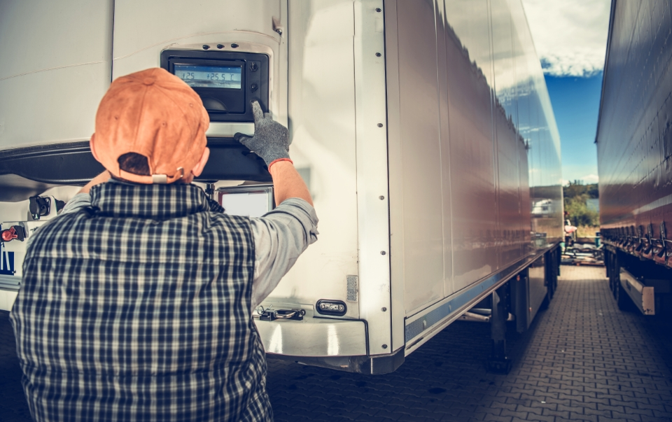 Cold Chain Monitoring Fleet Tracking